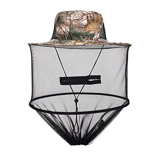 Head Net Mesh Head Cover Face Hat Net Protect from Fly for Outdoor Fishing Beekeeping Beekeeper