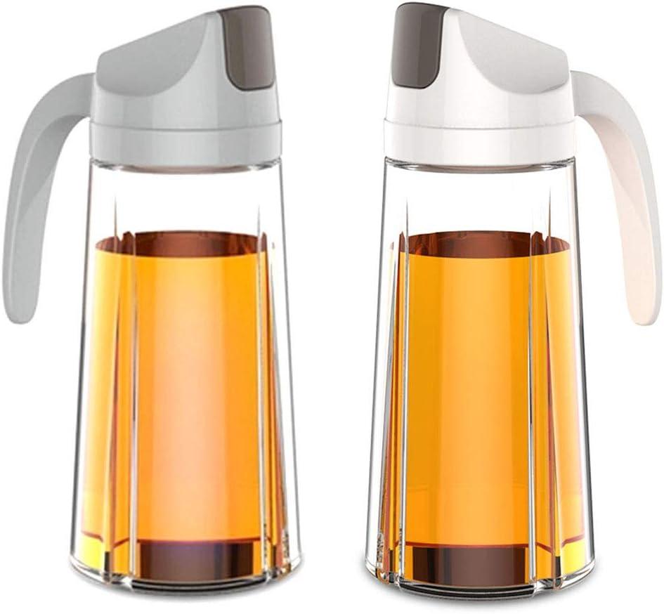 LE CHARME Rare 21.5 OZ Direct stock discount set of 2 Oil Oi Dispenser Automatic Flip Olive