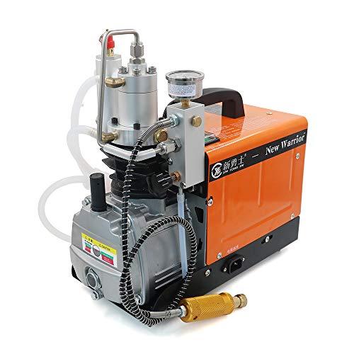 30MPA 4500PSI 300BAR - Bomba de aire eléctrica para neumáticos, bolas, bombonas de gas grandes y pequeñas selladas, al aire libre