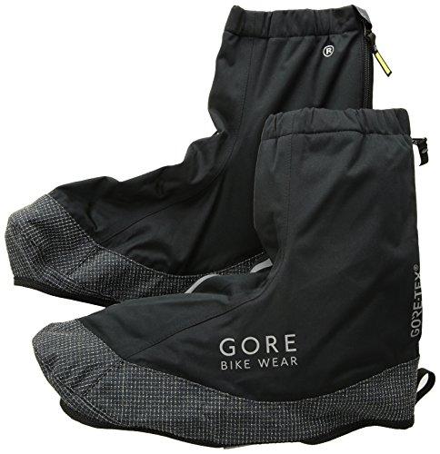 GORE BIKE WEAR Cubre zapatos térmicos para montar en bicicleta, Súper Ligeros, GORE-TEX, ROAD Thermo Overshoes, Talla 42-44, Negro, FGTROA