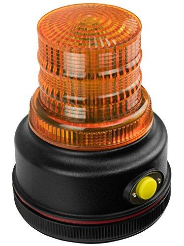 Blazer International C43A LED Warning Beacon with Magnetic Base, Amber