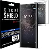 TECHGEAR [3 Pack] Protection Écran pour Xperia XA2 [ghostSHIELD] Film de Protection Souple en TPU...