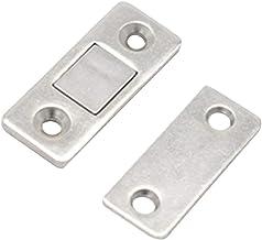 2 peças de ímãs de porta de armário em aço inoxidável Besportble, fecho magnético para porta de correr, armário de cozinh...