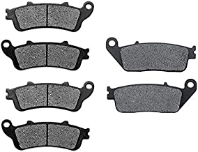 KMG Front + Rear Brake Pads for 2008-2009 Victory Vision Street - Non-Metallic Organic NAO Brake Pads Set