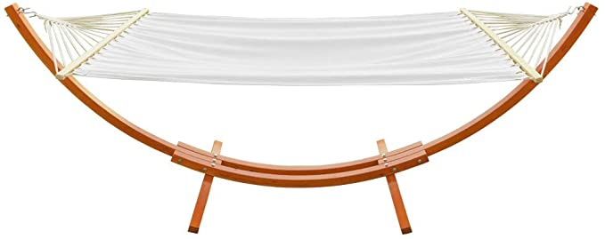 ONCLOUD Hammock Wood Arc Stand - The Best Hammock with a Wooden Stand