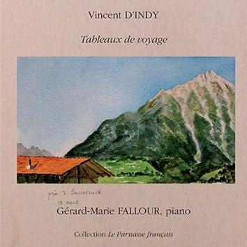 Tableaux de voyage de Vincent d'Indy