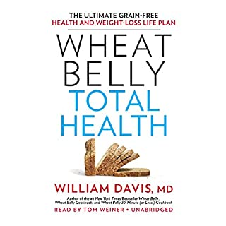 Wheat Belly Total Health audiobook cover art