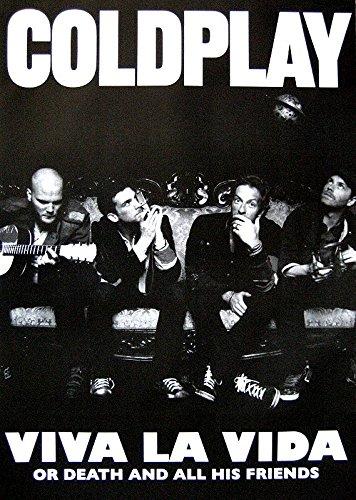 Coldplay Poster Viva LA VIDA OR Death and All HIS Friends