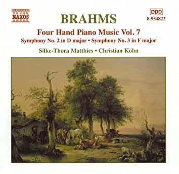 Brahms: Four-Hand Piano Music, Vol.  7