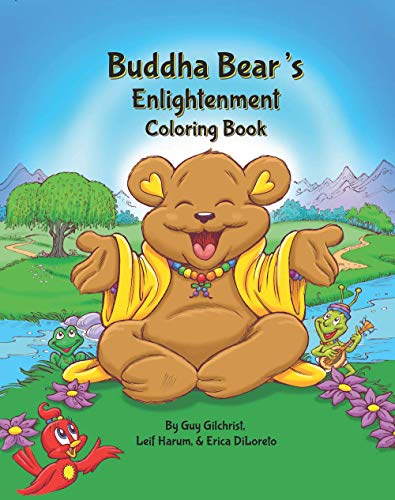 Buddha Bear's Enlightenment Coloring Book | Childrens Books | A 21 Day Adventure | Towards Emotional & Spiritual Growth