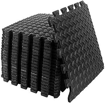 DSSPS 20 Feet Puzzle Exercise Floor Mat with EVA Foam Interlocking Tiles