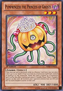 YU-GI-OH! - Pumprincess The Princess of Ghosts (SHSP-EN032) - Shadow Specters - 1st Edition - Common