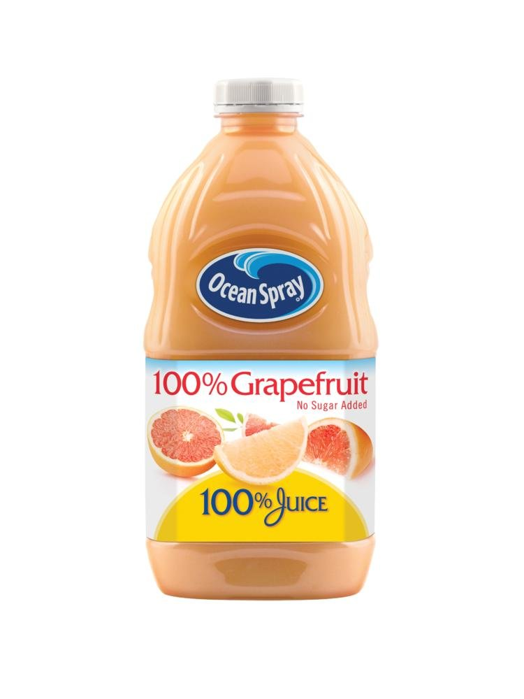 Ocean Spray 35% OFF Juice 100% Grapefruit safety 8 60 Pack of Ounce