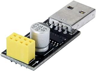 Oak-Pine CH340 USB to ESP8266 WiFi Module Adapter Board ESP8266 ESP-01 Serial WiFi Wireless Transceiver Module to ESP8266 Adapter for Arduino