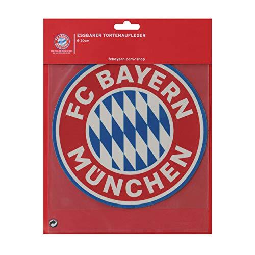 Torte Tortenaufleger Bayern MÜNCHEN kompatibel + Sticker München Forever, Essbarer Aufleger, Pie-Chart, FCB
