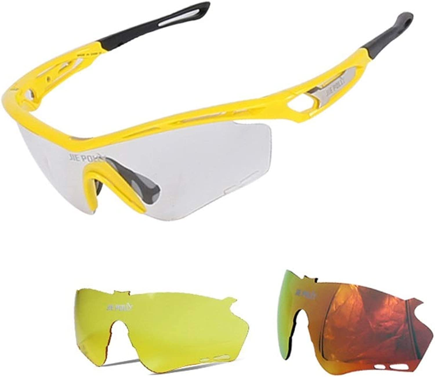 Sinngukaba Mountain Cycling Glasses for Men and Women Outdoor Sports Equipment Wind and Dust Dust Eye Glasses for Women Men (color   E)