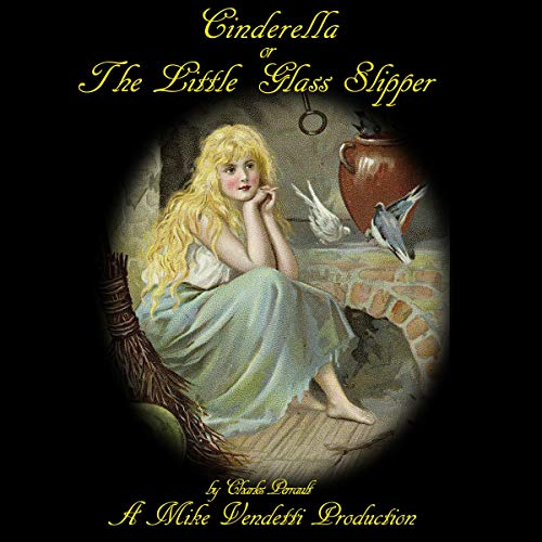 『Cinderella or The Little Glass Slipper』のカバーアート