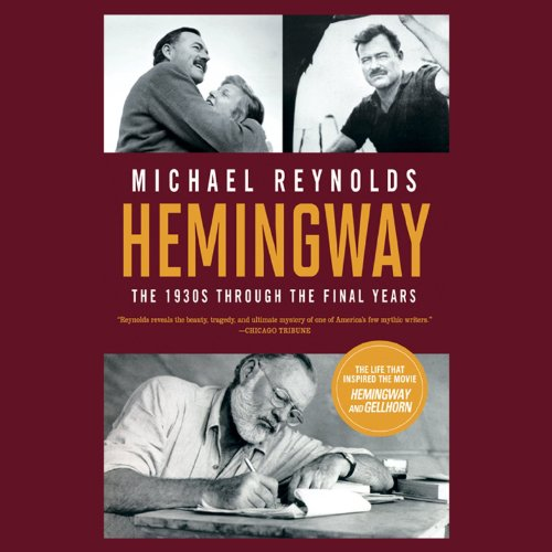 Hemingway: The Paris Years audiobook cover art