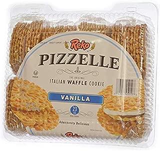 Reko Pizzelles - Vanilla, 20 oz - Authentic Italian Waffle Cookie