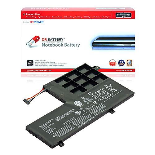 Dr. Battery Laptop Battery for Lenovo L14L2P21 L14M2P21 IdeaPad S41-70 510S 510S-13ISK 510S-14ISK [7.4V/4050mAh/30Wh]