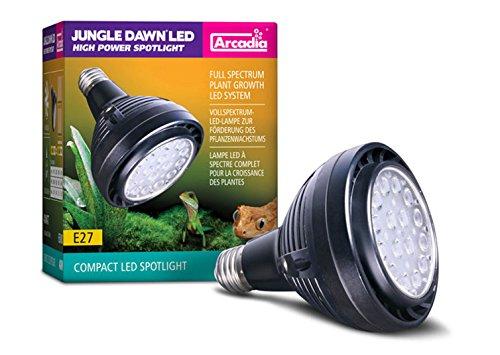 Arcadia Jungle Dawn Spot 40 W, promueve el Crecimiento de Las Plantas