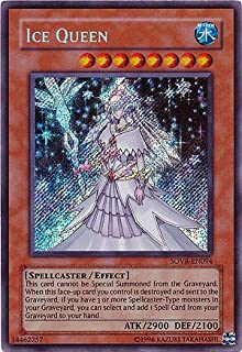 Yu-Gi-Oh! - Ice Queen (SOVR-EN094) - Stardust Overdrive - 1st Edition - Secret Rare