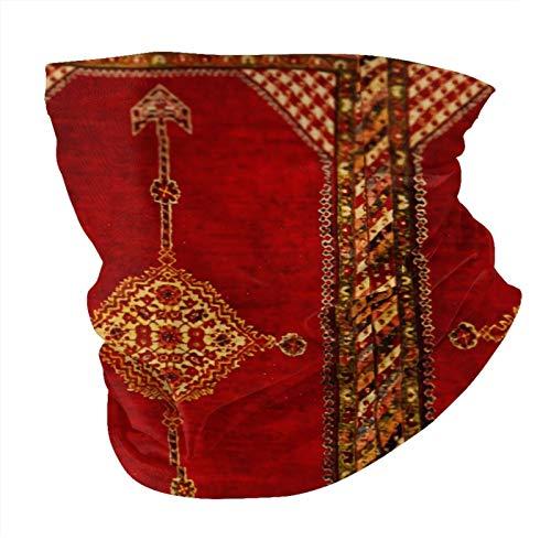Decams Bandana máscara facial persa alfombra oriental antigua pasamontañas al aire libre a prueba de polvo, resistente al viento, multifuncional, para hombres y mujeres