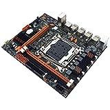 SovelyBoFan X99 LGA2011-V3Pin DDR3 Placa Base Placa Madre de Computadora de Escritorio de Doble Canal para E5-2649/2678/2696/2629/2668 V3 CPU Kit