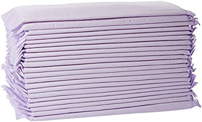 AmazonBasics Cat Pad Refills for Litter Box, Unscented - Pack of 40