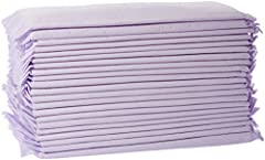 40-pack of cat-litter pads; for use with a cat-litter system (not included) or when traveling in the car Purple-colored pad made of PE film with a super-absorbent core; effective moisture lock underneath Disposable for quick, easy cleanup; store unus...