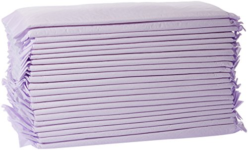 AmazonBasics Cat Litter Box Pads - Pack of 40, Fresh Scent