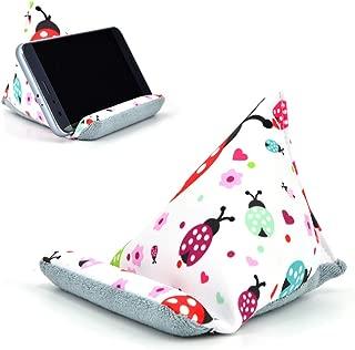 Fabric Phone Stands,Phone Pillow Holder for iPhone 8,Phone Sofa Bean Bag Cushion (Ladybird)