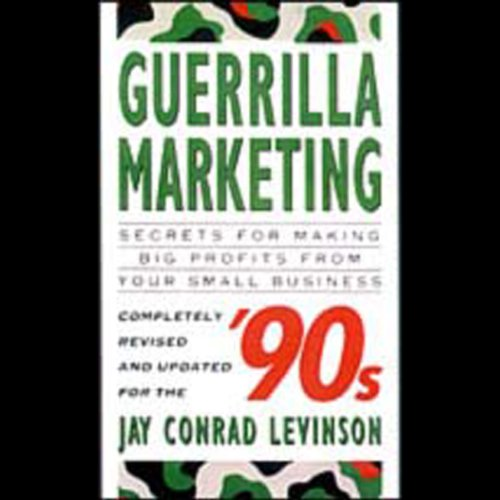 Guerrilla Marketing audiobook cover art
