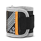 Magnetic Wristband for Holding Tools, Screws, Nails, Strong Wrist Magnets Unique Armband Leg Strap and Holder Belt, Best Top Ideas Tool Gifts for Men, Father, Dads, Husband, Handyman, Electrician, Car