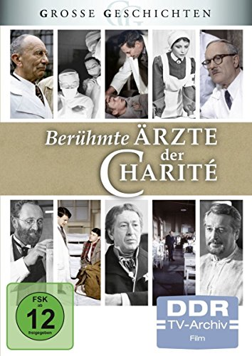 Große Geschichten: Berühmte Ärzte der Charité (DDR TV-Archiv) [4 DVDs]