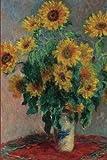 Claude Monet's 'Sunflowers' Art of Life Journal (Lined)