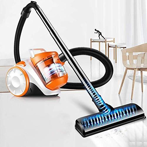 Aspiradora, sin Bolsa Aspirador del Frasco Potente for alfombras y Suelos Duros 16kpa, 1200w, 70 db-Orange Xuan - Worth Having