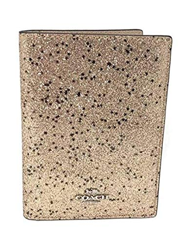 Coach Crossgrain Leather Passport Case & Crossgrain Leather Luggage Tag Travel Gift Box Set
