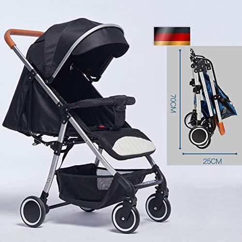 AP.DISHU Baby Stroller, German Baby Stroller Lightweight Folding Ultra Light Portable Stroller,...