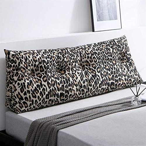 Gestoffeerde driehoekige wig kussen, Sofa bed kussen Kussen Bedrust Reading kussen rugleuning positionering ondersteuning kussen, lumbale pad voor kantoor slaapbank,D,120×50×20cm(47×20×8