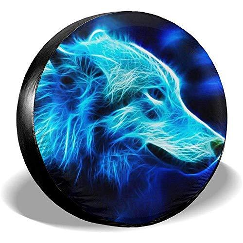 LYMT beschermhoes voor banden Galaxy Wolf Potable Polyester Reserverad Universal bandenafdekking Accessoires aanhanger reis