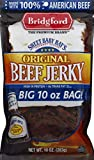 BRIDGFORD Sweet Baby Ray's Original Beef Jerky, 10 Oz Jumbo Bag