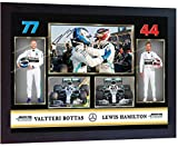 SGH SERVICES Poster Lewis Hamilton Valtteri Bottas Mercedes