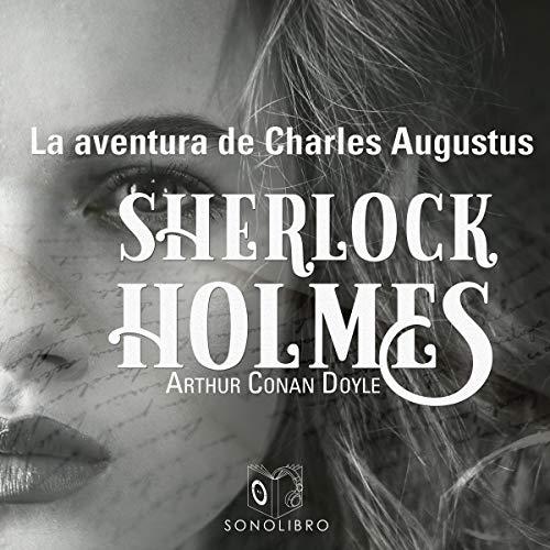 Diseño de la portada del título La aventura de Charles Augustus