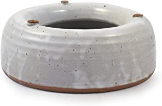 Modern Artisans American Made Heavy-Weight Splash-Free Stoneware Water Bowl Dogs Cats