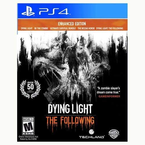 PS4 DYING LIGHT: THE FOLLOWING - ENHANCED EDITION (US)