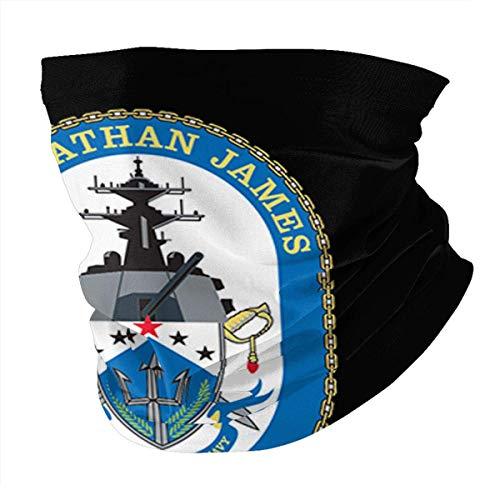 PCYN USS Nathan James Cyclisme Foulard MultiFonction Variété Extérieur