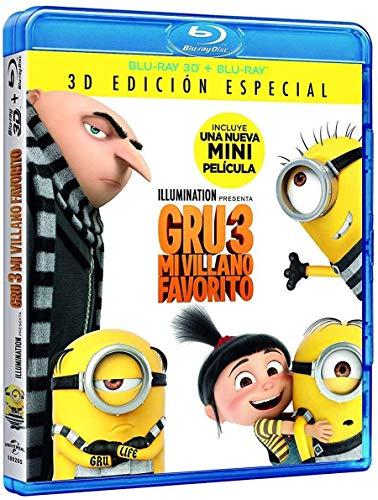 Gru 3 Mi Villano Favorito (BD 3D + BD) [Blu-ray]