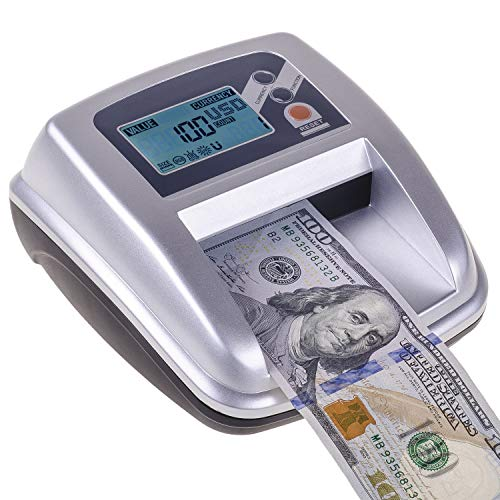 3 in 1 New Counterfeit Bill Detector & Counter with 5 Detection Modes & Bonus Counterfeit pens