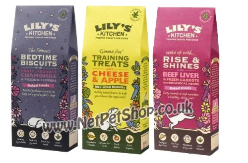 Lily's Kitchen Dog Treat Variety Pack 3 Packs